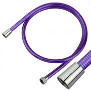 Brauseschlauch Kronos violett transparent